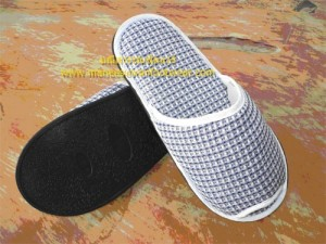 รับผลิตรองเท้า รองเท้าslipper รองเท้าแตะ รองเท้าสปา รองเท้าผ้าวอฟเฟอร์ พื้น p.v.c.