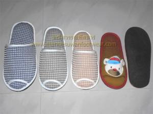 จำหน่ายรองเท้าผ้า / Slipper สำหรับใส่เดินในบ้าน ออฟฟิค โรงแรม โรงพยาบาล คลีนิคทำฟัน